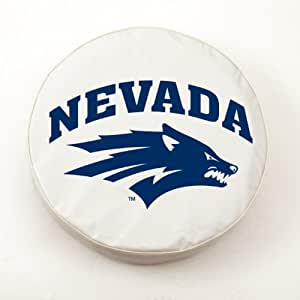 Nevada Wolf Pack College Spare Tire Cover Size: H1 - 37 x 12.5 Inch