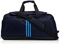 adidas 3S Perforated M Polyester Travel Bag (Blue)