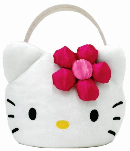 Hello Kitty Plush Easter Basket