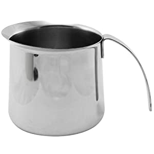 KRUPS XS5020 Stainless Steel Milk Frothing Pitcher, 20-Ounce, Silver