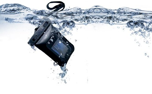 Waterproof Case for Phones, Digital Camera, GPS & Other Small Devices - IPX8 Certified to 100 Feet