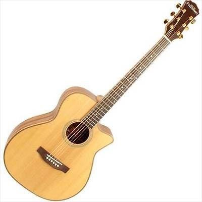 Freshman Songwriter Songoc Om Electro Acoustic Guitar All Solid Natural