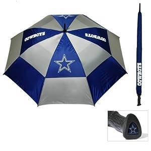 NFL Dallas Cowboys 62-Inch Double Canopy Umbrella by Team Golf