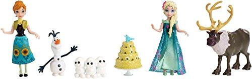Mattel Disney Princess DKC58 - Frozen Fever, Set Festa di compleanno