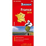Carte France 2014 (format livret) Michelin