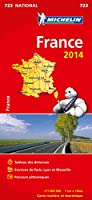 Carte France 2014 (format livret) Michelin