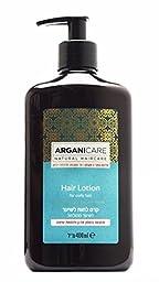 Arganicare Hair Lotion For Curly Hair Organic Argan Oil 400ml