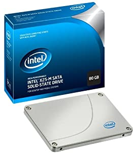Intel 80 GB X25M Mainstream SATA II Solid-State Drive (SSD) Retail Package SSDSA2MH080G2R5