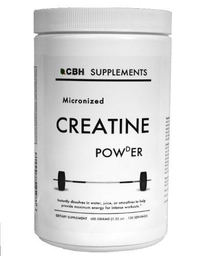 CBH Micronized Creatine Powder (600g), Unflavored