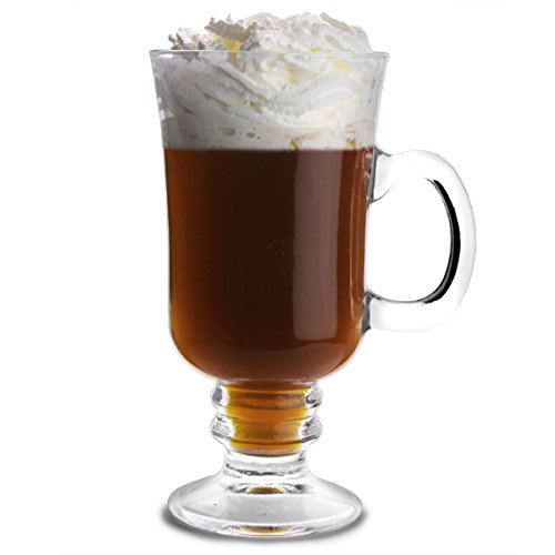 City-verres--Irish-Coffee-250-ml-Lot-de-4-Mugs-Hot-Chocolate-bar-drinkstuff-Coffret-cadeau-Mugs-Irish-Coffee-Hot-Verre-Toddy