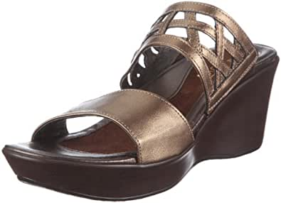 Naot Womens Bonita Gold Leather - 38 M EU