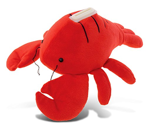 Puzzled Plush Lobster Huggie Bank