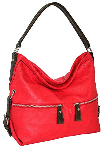 punto-uno-large-top-zippered-hobo-red