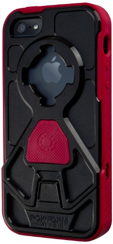 Best Price Rokform RokShield V.3 Bumper Apple iPhone 5 / 5S Case with Remote Mounting System (Red Bumper / Black Body / Red Grip)