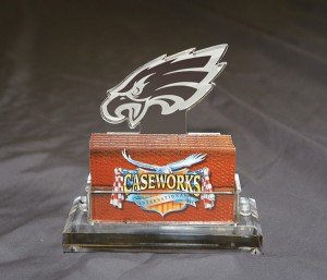NFL Philadelphia Eagles Business Card Holder in Gift Box by Caseworks