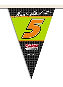 NASCAR Mark Martin #5 25-Foot Party Pennant Flag by BSI
