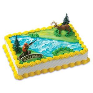 Amazon.com: Deer Hunting Hunter Cake Decorating Kit: Toys ...