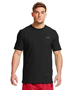 Under Armour Men's Charged Cotton® Short Sleeve T-Shirt Large Black