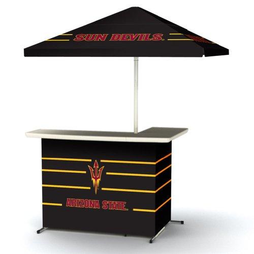 Ncaa Arizona State Sun Devils Portable Bag Travel L-Shape Umbrella Basic Bar