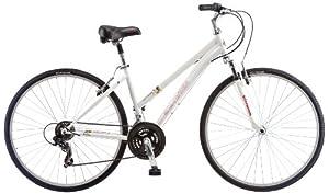 Schwinn Ladies Network 1.0 700c Hybrid Bicycle, White by Schwinn