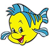 Little Mermaid Flounder Disney Princess Vynil Car Sticker Decal - Select Size