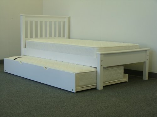 Twin trundle bed sale for White twin beds for sale