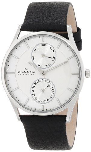 Skagen Men's SKW6065 Grenen Quartz/Multi Stainless Steel Black Watch