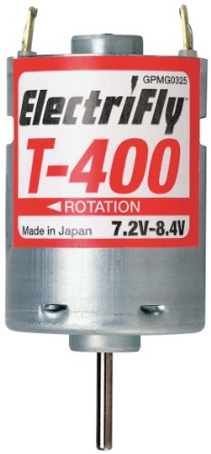 Great Planes ElectriFly S-400 7.2-8.4V Ferrite Motor