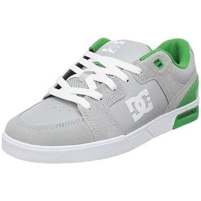 DC Men's Monty Skate Shoe,Armor/Emerald,12 M US