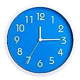 ビンウォー(BINWO) 壁 掛け時計 Wall Clock 10インチ (ブルー)