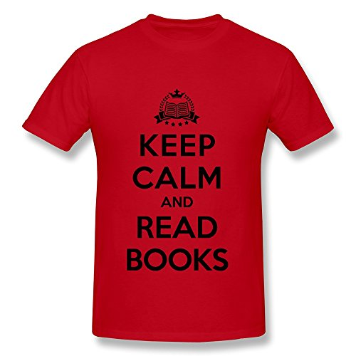 Ruifeng Guy Keep Calm Read Books T-Shirt