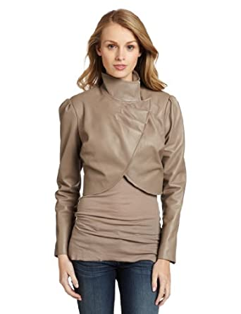 Tt Collection Women's Reed Jacket, Taupe, Small