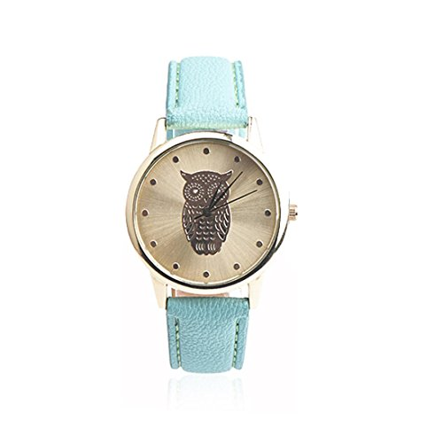 harrystore-womens-retro-owl-design-leather-band-analog-alloy-quartz-wrist-watch-green