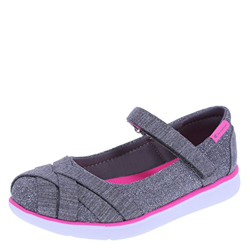 Champion Girls' Grey Pink Girls' Fuse Sport Mary Jane 3.5 Regular (Champion Kids Shoes compare prices)