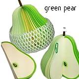 Fruit Shape Pear Note Pad (Set Of 2)
