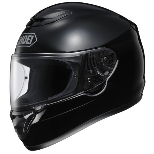 shoei-qwest-plain-black
