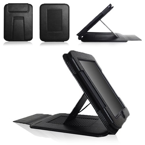 CaseCrown Epic Standby Case (Black) for Barnes & Noble Nook Simple Touch / Nook Simple Touch with Glow Light