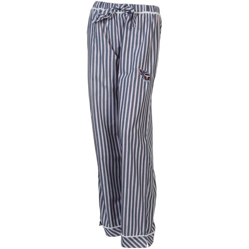 NFL Tennessee Titans Ladies Honor Roll Pajama Pants - Navy Blue/Pink (Large) at Amazon.com
