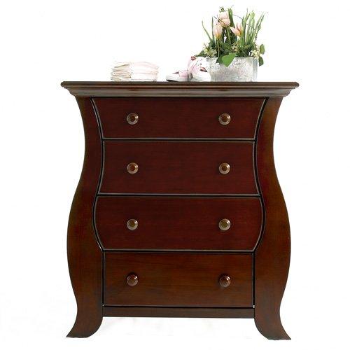 Baby Cache Oxford 4 Drawer Dresser, Cherry front-712574