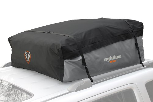 Rightline Gear 100S30 Sport 3 Car Top Carrier, 18 cu ft, Waterproof, Works With or Without Roof Rack (Top Cars compare prices)