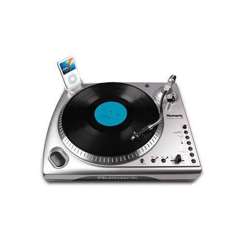 Numark TTi USB Turntable with Pitch Control and iPod Dock