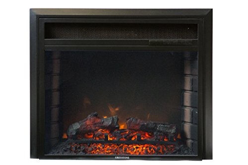 Greystone F2308E Electrical Fireplace 23.5