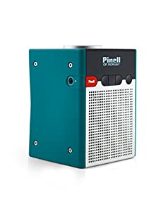 Pinell Go Portable Battery Powered Digital Radio with FM/DAB/DAB+ - Deep Sea Green