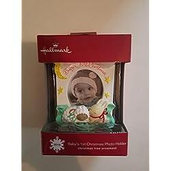 Hallmark Baby's 1st First 2016 Christmas Photo Holder
