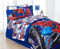 Spiderman Twin Bedding Set