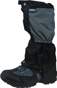Highlander Breathable Ladies Gaiter - Grey/Black, One Size
