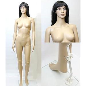 女性用マネキンG-7 等身大176cm 全身マネキン婦人用 店舗用品画像