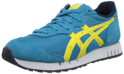 Onitsuka Tiger X-caliber Fashion Shoe,Hawaiian Ocean/Blazing Yellow,10.5 M US