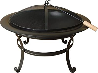 Fire Bowl Stainless Steel Luxury Bbq Fire Basket Fire Pit Bbq Grill Fire Bowl from ethanol24