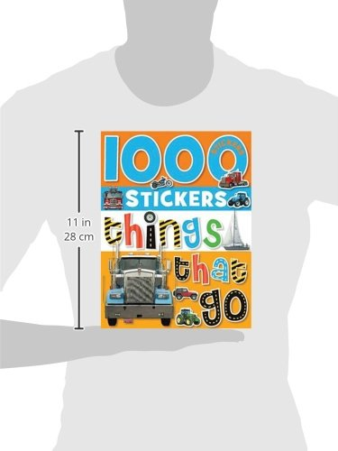 1000 Stickers: Things That Go